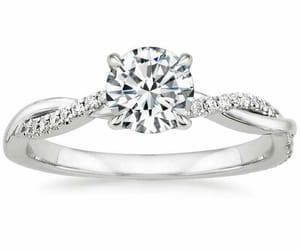 diamond, proposal, and silver image