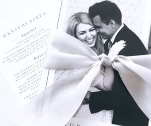 card, couple, and planning image