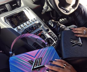 style, bag, and car image
