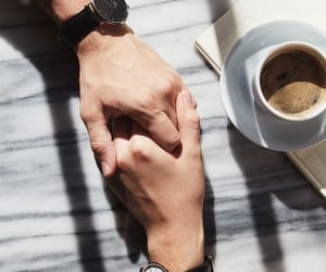 couple, love, and coffee image