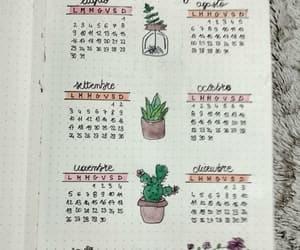calendario, calendrier bullet journal, and calendar bullet journal image