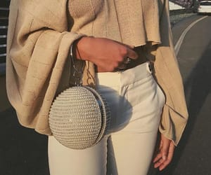 beige, glitter, and purse image