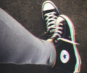 aesthetic, chuck taylors, and converse image