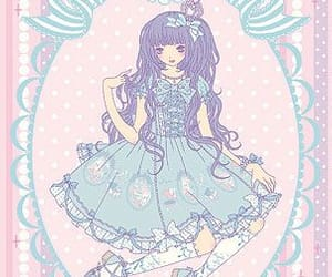 gothic lolita, japanese art, and ill imai kira image
