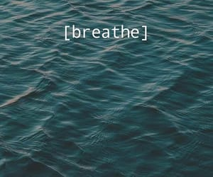 background, breathe, and ocean image