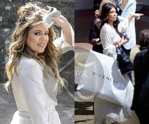 bride, kanye west, and kardashian image