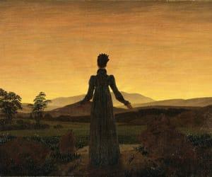 caspar david friedrich, painting, and romanticism image