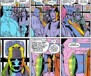 comic book and watchmen image