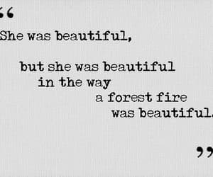 quotes, beautiful, and fire image