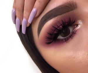 eyelashes, eyes, and highlight image