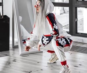 Balenciaga, kappa, and streetwear image