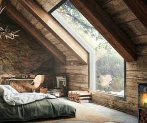 casa, ventana, and habitacion image