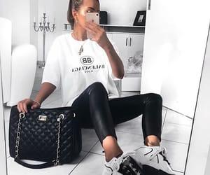 Balenciaga, girl, and stylé image