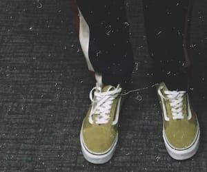 aesthetic, vans, and yellow image