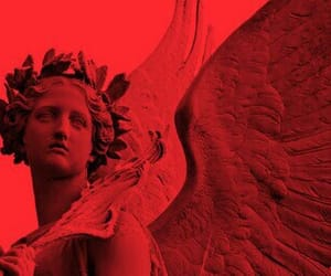 angel and red image
