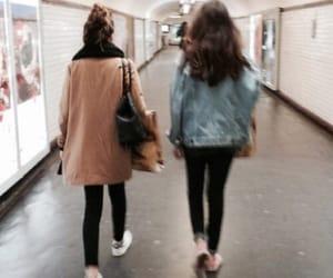 girls and subway image