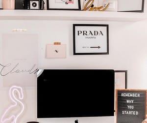 chic, design, and desk image