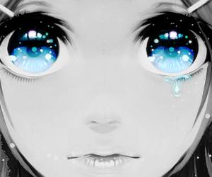 anime, blue eyes, and eyes image