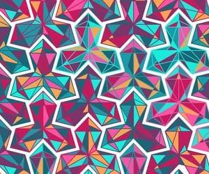 pattern, background, and geometric image
