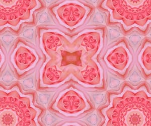 aesthetic, kaleidoscope, and rose image