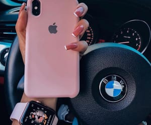 iphone, bmw, and nails image