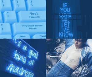 blue, Harry Styles, and harry styles lockscreen image