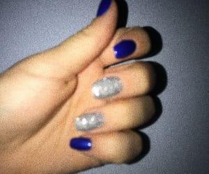 blur, nail, and nails image