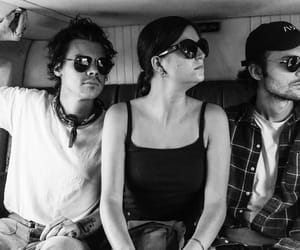 b&w, Harry Styles, and best friends image