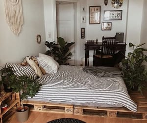 apartment, bedroom, and decor image