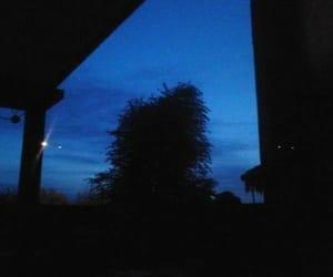 grunge, dark, and blue image