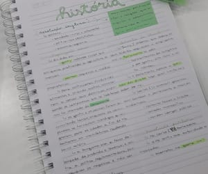 aesthetic, green, and notes image