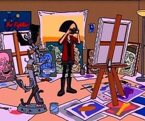 Daria, 90s, and art image