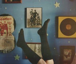 beatles, vintage, and room image