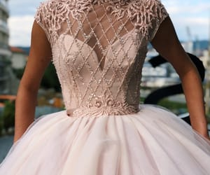 ball gown, dress, and beautiful image