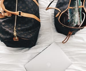 clothes, fashion, and laptop image