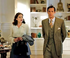 jarvis, peggy, and agent carter image