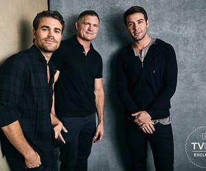 james wolk, sdcc18, and paul wesley image