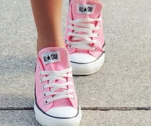 converse, pink, and rosa image