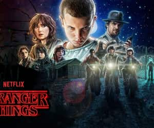 11, wallpaper, and stranger things image