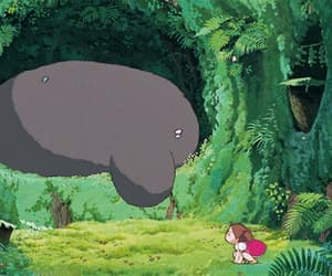 anime, gif, and studio ghibli image