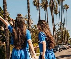 california, merrell twins, and veronica merrell image