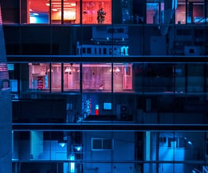 asia, night, and building image