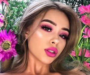 beauty, lipstick, and contour image