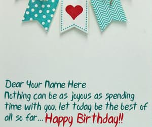 birthday card and happy birthday wishes image
