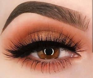 eyebrows, eyes, and eyeshadow image