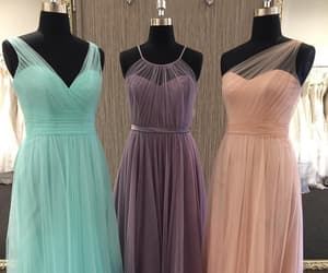 dress, gowns, and tulle dress image