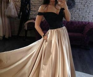 dress, gowns, and prom dress image