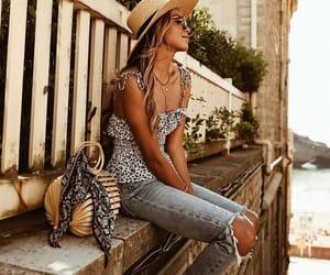 fashion, jeans, and fashion blogger image