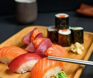 food, japan, and rice image