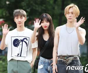 cube, pentagon, and hyuna image